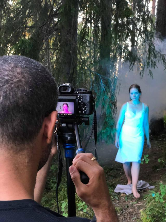 The making of Super-Sister music video